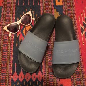 Rag & Bone Logo Pool Slides 😎